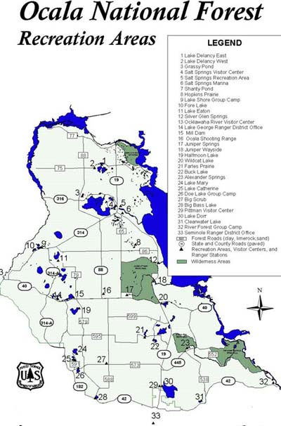 Hunting Island State Park Interactive Campground Map
